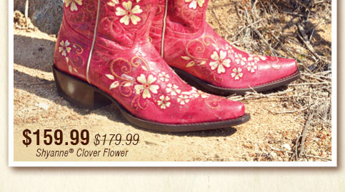 Shyanne® Clover Flower - $159.99