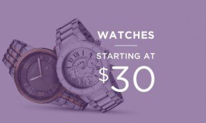 Watches Starting At $30 | Shop Now
