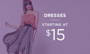 Dresses Starting At $15 | Shop Now