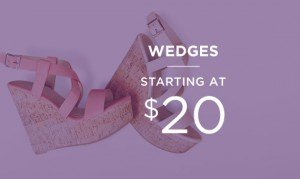 Wedges Starting At $20 | Shop Now