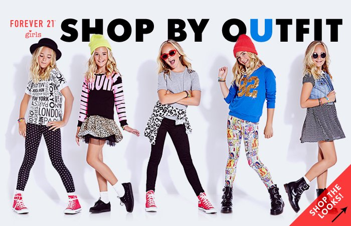 Forever 21 girls shop by outfit shop now