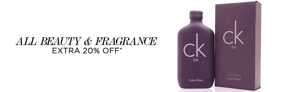 All Beauty & Frangrance Extra 20% Off*