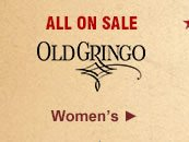 All Womens Old Gringo Boots on Sale