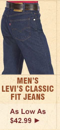 All Mens Levis Classic Fit Jeans on Sale