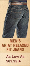 All Mens Ariat Relaxed Fit Jeans on Sale