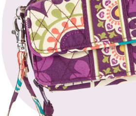 All in One Crossbody in Plum Crazy