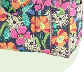 Large Duffel in Jazzy Blooms
