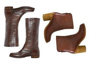 Fall Footwear Hues: Brown