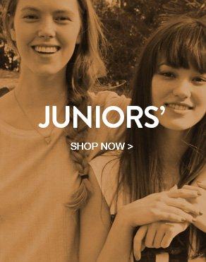 JUNIORS' - SHOP NOW