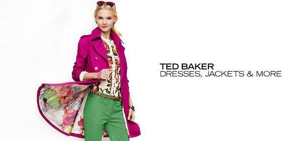 TED BAKER: DRESSES, JACKETS & MORE, Event Ends September 3, 9:00 AM PT >