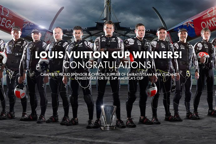 Louis Vuitton CUP WINNERS