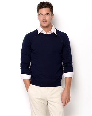 Class Roberto Cavalli SS 2013 Long Sleeve Wool Sweater