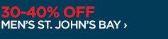 30-40% OFF MEN'S ST. JOHN'S BAY ›