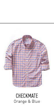 Orange and Blue Shirt