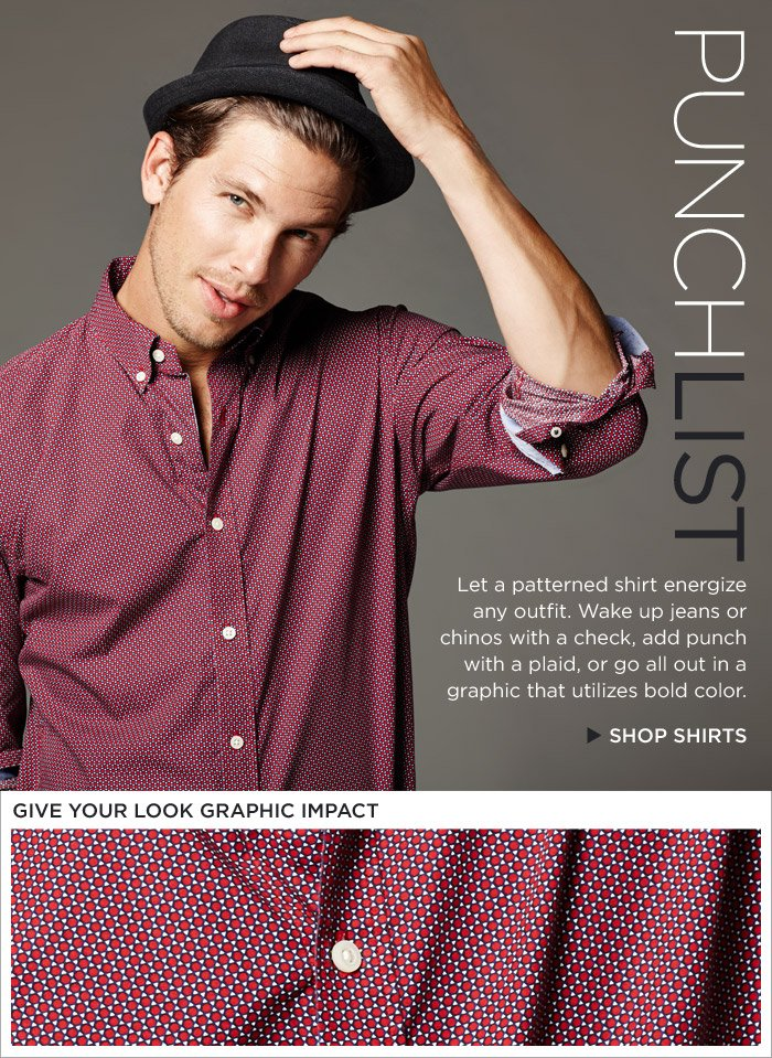 PUNCHLIST | SHOP SHIRTS