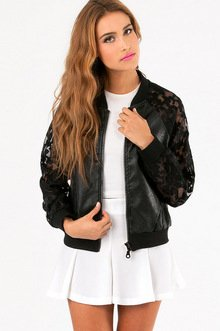 LADY LUCK BASEBALL JACKET 61