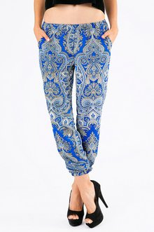 PRIM & PAISLEY LOUNGE PANTS 33