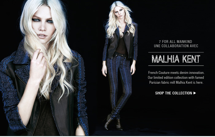Denim Couture   7FAM X Malhia Kent