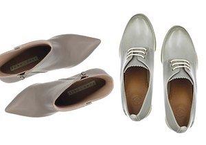 Fall Footwear Hues: Grey