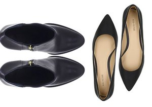 Fall Footwear Hues: Black