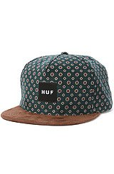 The Flower Cord Snapback in Forest