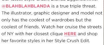 Shop Blanda's Favorite Styles