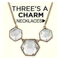 Three's a Charm! Shop Necklaces
