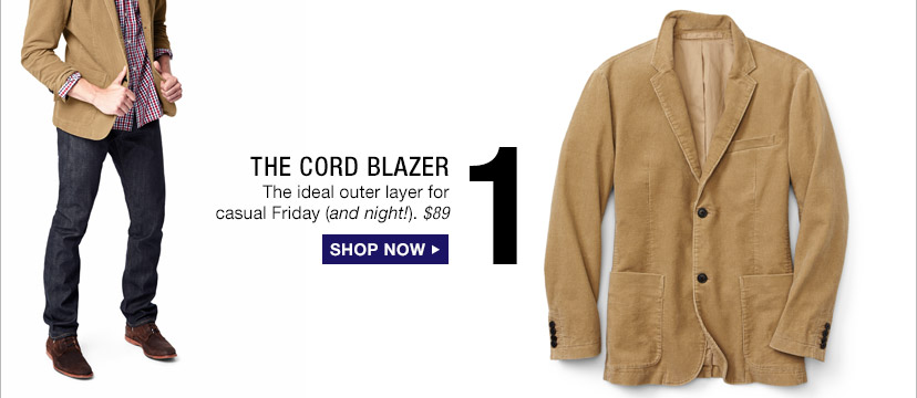 1 | THE CORD BLAZER | SHOP NOW