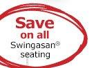 Save on all Swingasan® seating