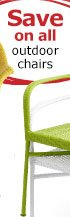 Save on all outdoor chairs