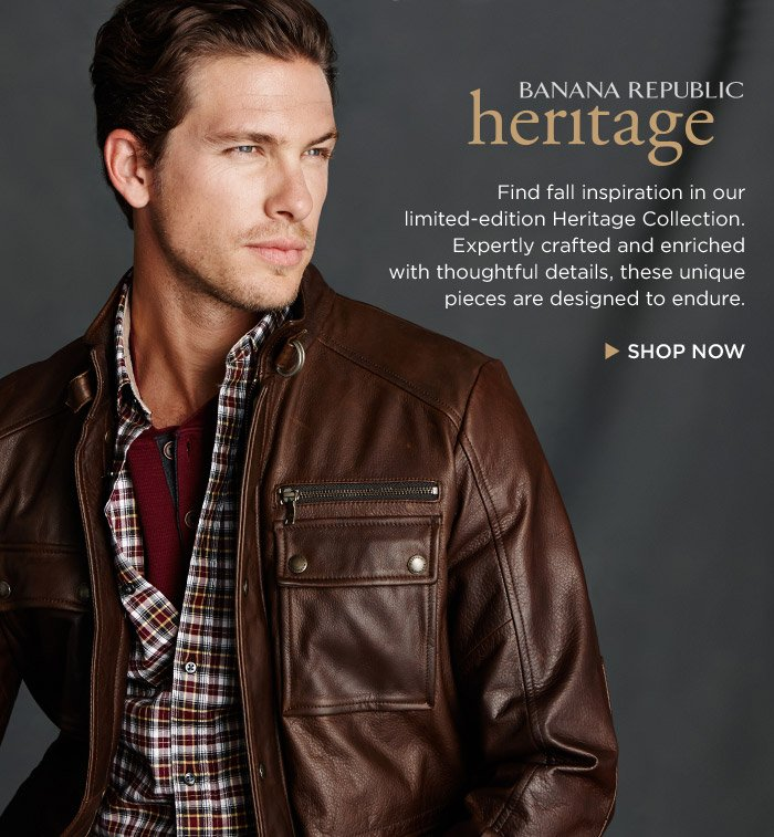 BANANA REPUBLIC heritage | SHOP NOW