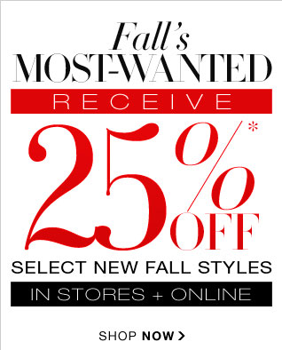 SHOP FALL'S MOST WANTED