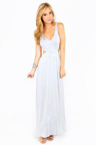 ESTHER SIDE SLIT MAXI DRESS 36