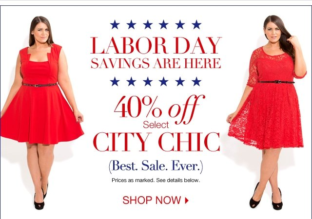 40% off City Chic