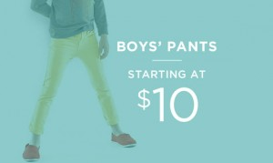 Boys' Pants Starting At $10 | Shop Now