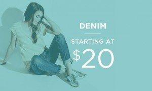 Denim Starting At $20 | Shop Now