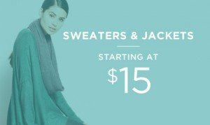 Sweaters & Jackets Starting At $15 | Shop Now