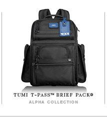 TUMI T-Pass Brief Pack - Shop Now