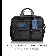 TUMI T-Pass Laptop Brief - Shop Now