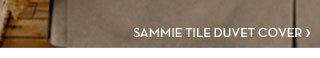 SAMMIE TILE DUVET COVER