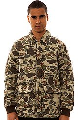 Obey Hunted Jacket in Bubble Camo