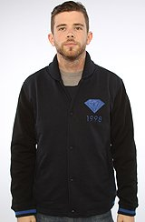 Diamond Supply Co Emblem 98 Fleece Varisty in Navy, Black, Royal