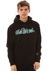 Diamond Supply Co Giant Script Hoody in Black