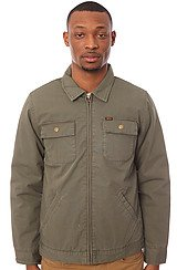 Obey Marlow Jacket in Army Green