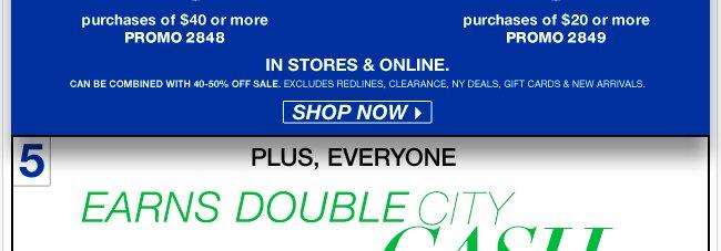 Shop Saturday Doorbusters till 2pm! Go Now!