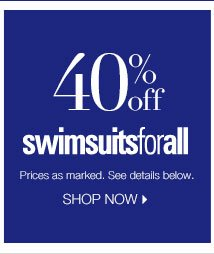 40% off SwimsuitsforAll