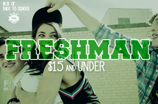 Freshman $15 & Under