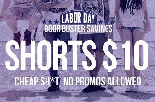 $10 Shorts