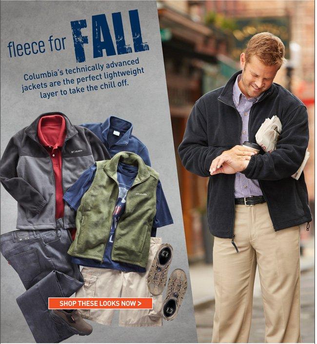 Shop Fall Fleece