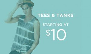 Tees & Tanks Starting At $10 | Shop Now